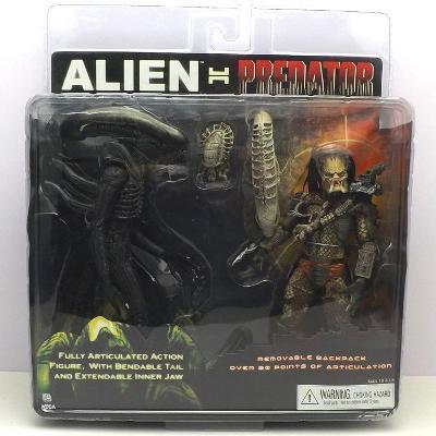 Alien vs Predator - sada 2 ks figurek 18 cm