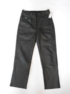 Kožené kalhoty POLO vel. 38- pas: 74 cm