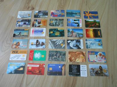 Sbírka telefonních karet