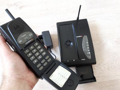 OLYMPIA Fidelio - starý mobilní přenosný telefon, nebo ruční stanice?
