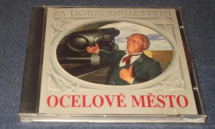 CD Ocelové město - Hudba