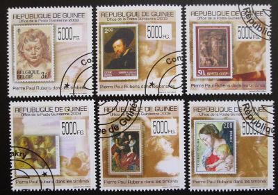 Guinea 2009 Umění, Rubens Mi# 7058-63 12€ 0834