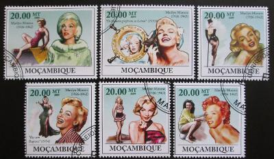 Mozambik 2009 Marilyn Monroe Mi# 3336-41 0836