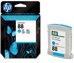 HP C9386AE - originální inkoustová azurová HP 88 - propadlá záruka