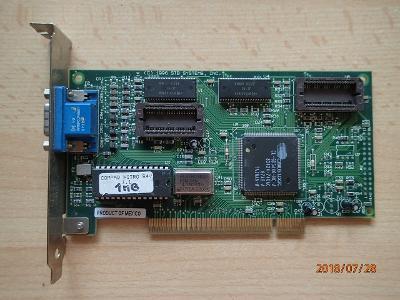 Historická grafická karta PCI Cirrus GD5446 vzácná pro sběratele a m.!