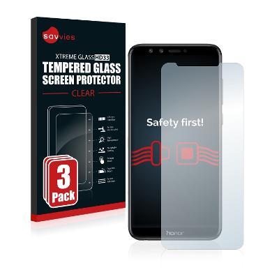 3x Ochranné tvrzené sklo - Huawei Honor 9 Lite