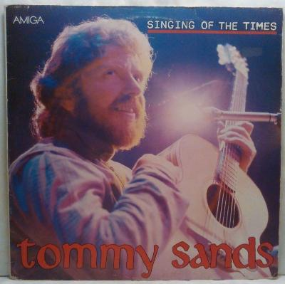 LP Tommy Sands - Singing Of The Times, 1987 EX
