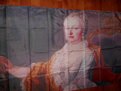 Mega Baner,vlajka Marie Terezie