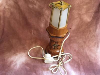 STARÁ LAMPIČKA HORNICKÁ KAHAN PLNĚ FUNKČNÍ PĚKNÁ