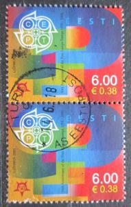 Estonsko 2006 Výročí Evropa CEPT pár Mi# 537 0546