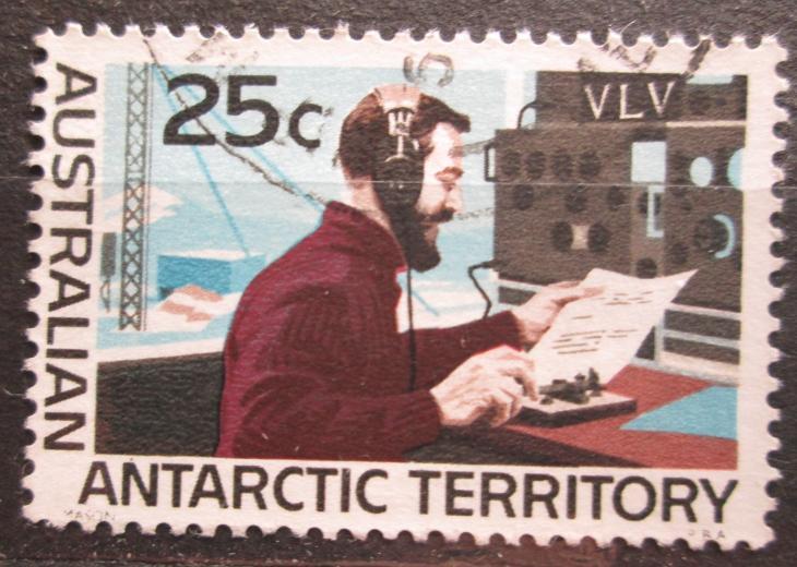 Australská Antarktida 1966 Radiostanice Mi# 16 0762 - Filatelie