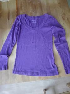 Fialové triko dámské zn.Vero Moda Basic!