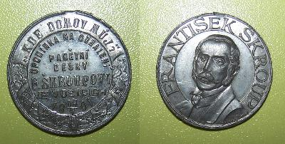 Škroup 1901 Osice okr. Hradec Králové Šmakal hymna Kde domov můj?