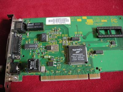 Síťová k. EtherLink XL PCI 3C900B-COMBO 3COM testovaná záruka i pro s.