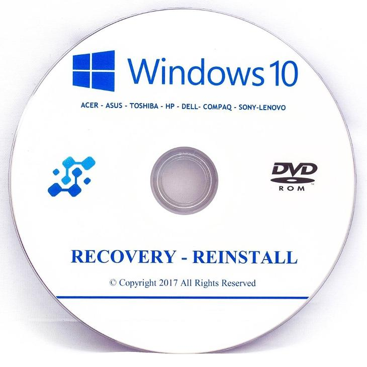 windows 10 recovery disk near me