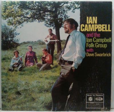 LP Ian Campbell And The Ian Campbell Group With Dave Swarbrick  EX