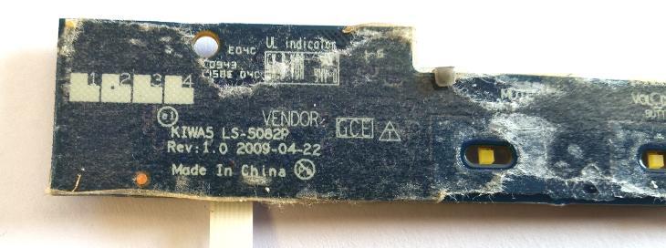 LED board LS-5082P z Lenovo G550 - Notebooky, příslušenství