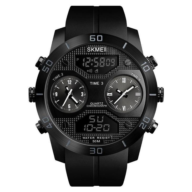 21283cc49 Hodinky SKMEI 1355 - pánské sportovní vodotěsné hodinky s 2 ciferníky  (6943034824)