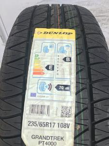 nové 2ks 235.65.17 Dunlop Grandtrek PT 4000 NO, 108V XL za 3900kč