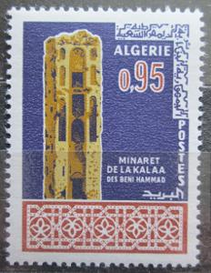Alžírsko 1967 Minaret Mi# 472 0517