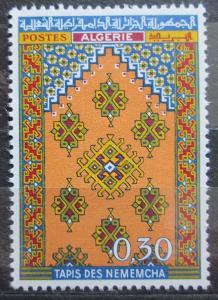 Alžírsko 1968 Koberec z Nemencha Mi# 496 0516