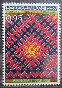 Alžírsko 1968 Koberec z Djebel-Amour Mi# 498 0516