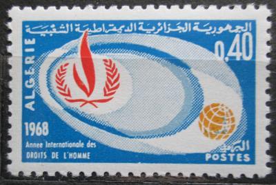Alžírsko 1968 Lidská práva Mi# 500 0516
