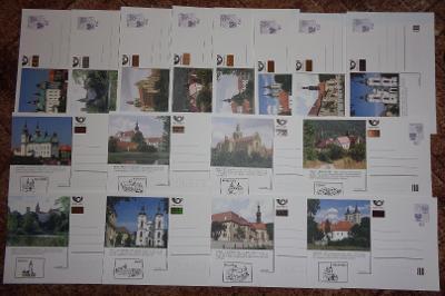 OBRAZOVÉ DOPISNICE 2004 - CDV 93 A+B - LEVNĚ !!