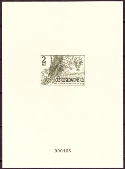 ČR - PŘÍLEŽITOSTNÝ TISK, MERKUR REVUE 1997, EKOLOGIE 2 KČS (T5550) - Filatelie