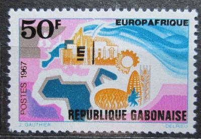Gabon 1967 EUROPAFRIQUE Mi# 282 0474