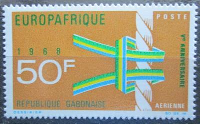 Gabon 1968 EUROPAFRIQUE Mi# 304 0476