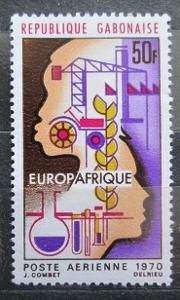 Gabon 1970 EUROPAFRIQUE Mi# 362 0479