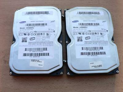 "2 kusy HDD 80GB 3,5"" SATA"