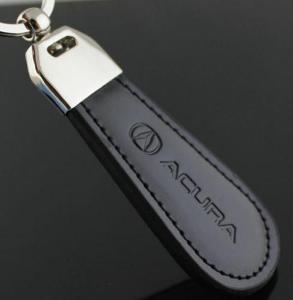 Acura - kožený přívěšek na klíče