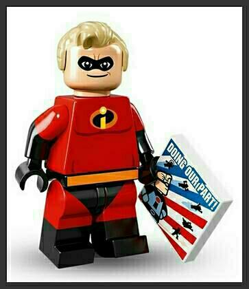 LEGO - figurka Pan Úžasňák (série Disney)