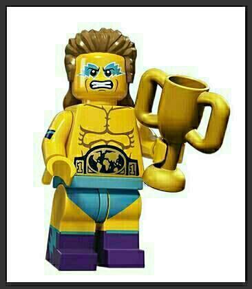 LEGO - figurka Wrestler  (série 15)