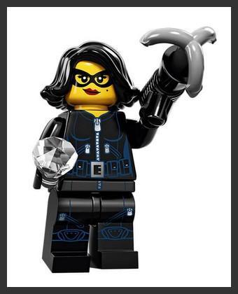LEGO - figurka ZLodějka (série 15)