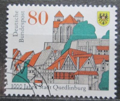 Německo 1994 Quedlinburg milénium Mi# 1765 0490
