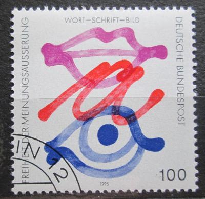 Německo 1995 Svoboda projevu Mi# 1789 0490