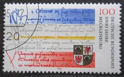 Německo 1995 Meklenbursko milénium Mi# 1782 0490