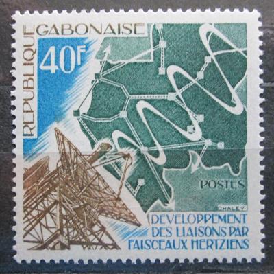 Gabon 1975 Parabola anténa Mi# 561 0494