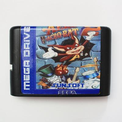 Aero The Acro Bat 2 - Sega Mega drive herní kazeta NOVÁ