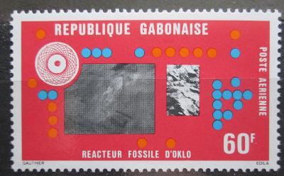 Gabon 1976 Reaktor Oklo Mi# 613 1113