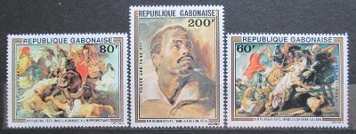 Gabon 1977 Umění, Rubens Mi# 643-45 1115