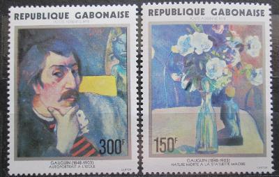 Gabon 1978 Umění, Paul Gauguin Mi# 648-49 Kat 9€ 1115