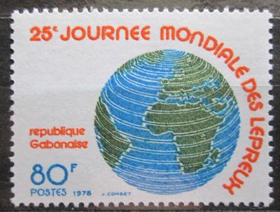 Gabon 1978 Glóbus Mi# 650 1115