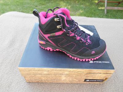 Nové kožené outdoorové boty zn.  ALPINE Triglav 2 - vel. 36 2a9942f922