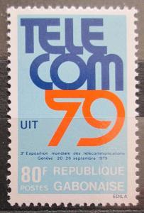 Gabon 1979 Výstava TELECOM Mi# 710 1120