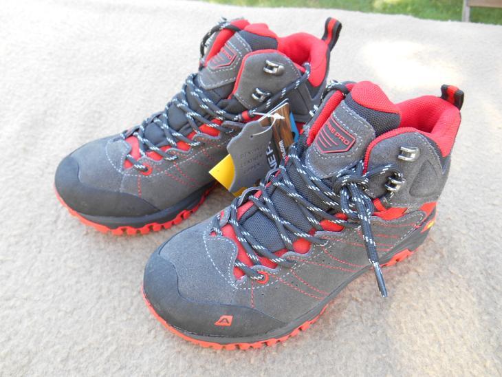 fc7bfbe68c5 Nové kožené outdoorové boty zn.  ALPINE Triglav - vel. 36 (6943217621)
