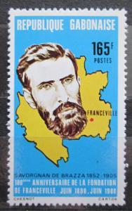 Gabon 1980 Pierre Savorgnan de Brazza Mi# 730 1120